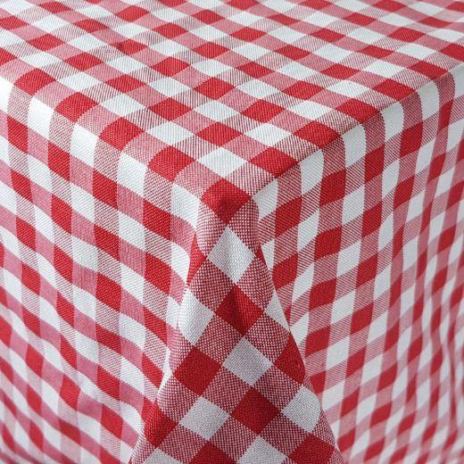 Mantel hostelería cuadros Vichy rojo