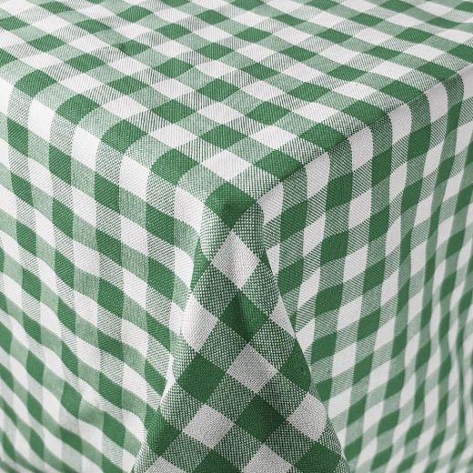 Mantel hostelería cuadros Vichy verde