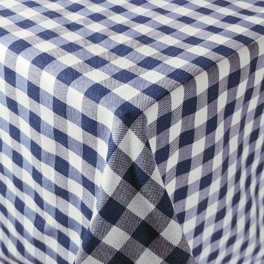Mantel hostelería cuadros Vichy azul