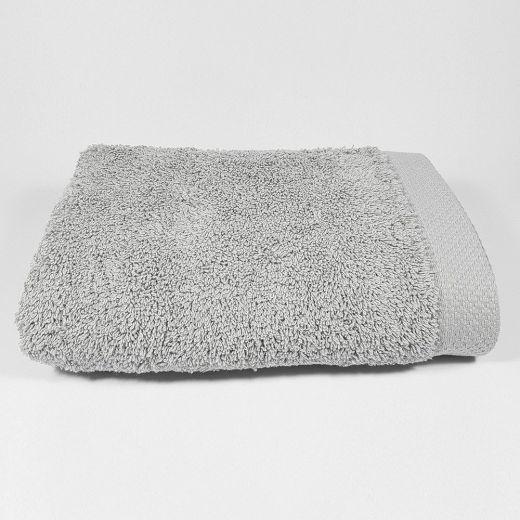 Toalla de lavabo Gris Luna 50x100 cm 550 gramos
