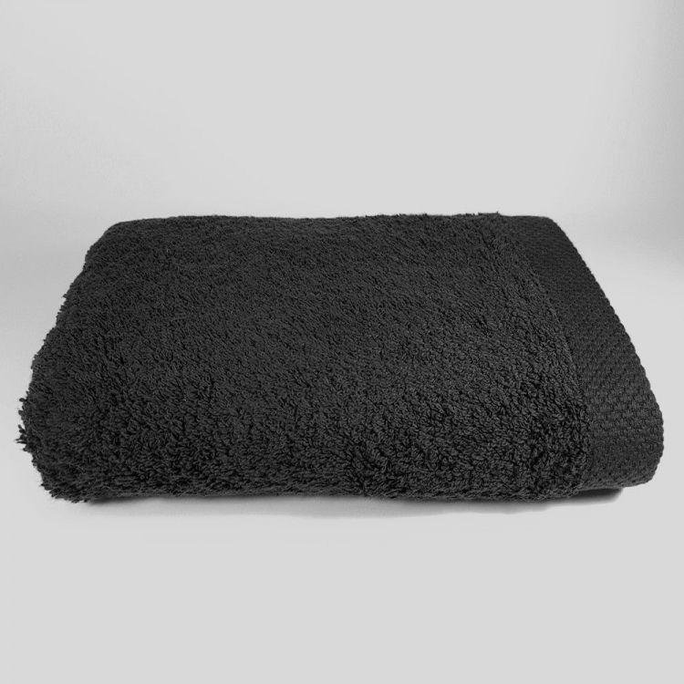 Toalla de lavabo Negra 50x100 cm 550 gramos