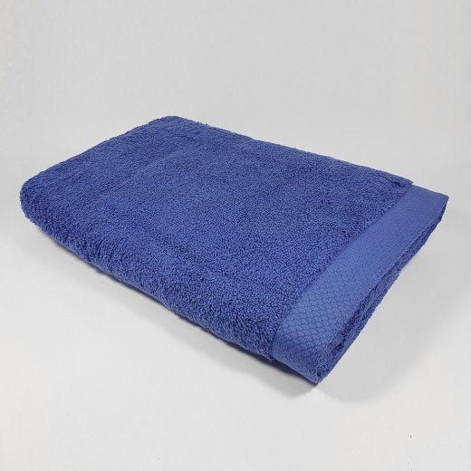 Toalla de ducha color azul 70x140 cm 550 gramos
