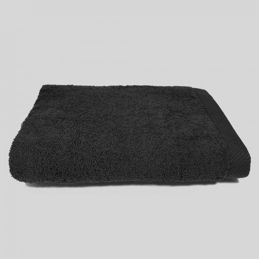Toalla de baño negra 100x150 cm 550 gramos