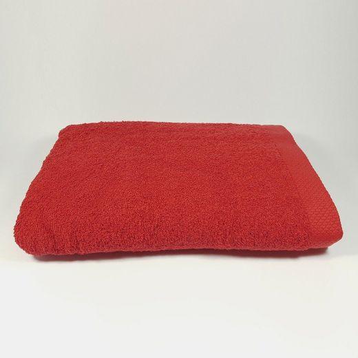 Toalla de baño Roja 100x150 cm 550 gramos