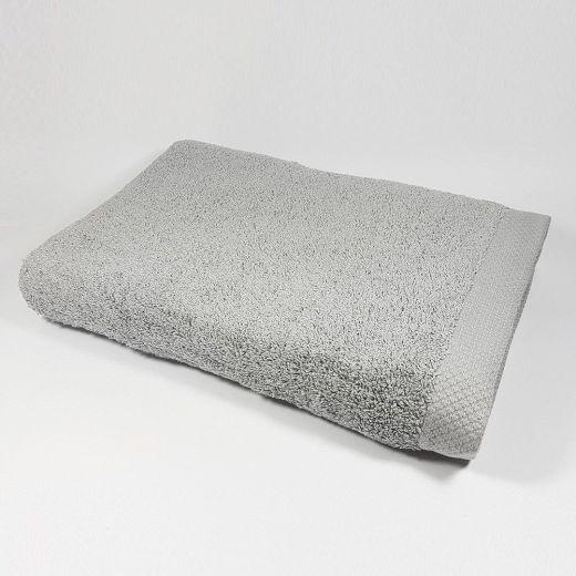 Toalla de baño color gris Luna 100x150 cm 550 gramos