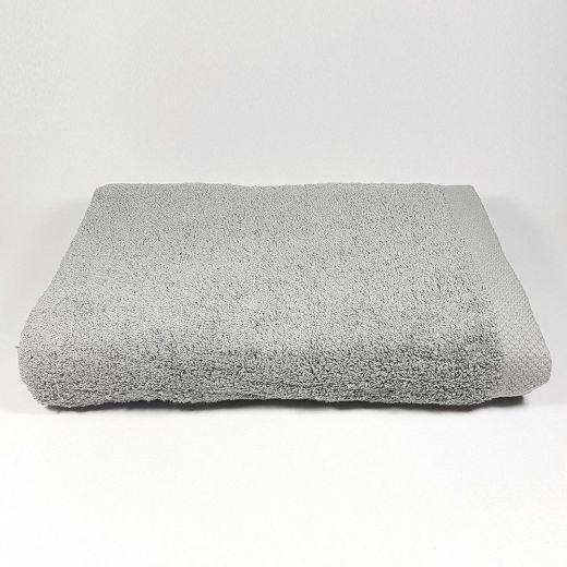 Toalla de baño Gris Luna 100x150 cm 550 gramos