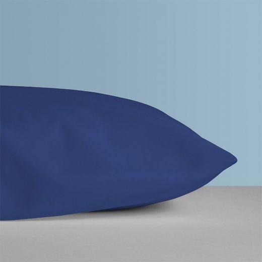 Funda protectora de almohada ignifuga azulina