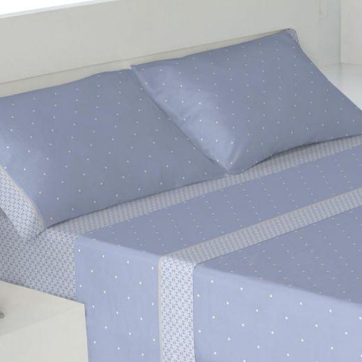 Juego de sábanas Trivor Azul