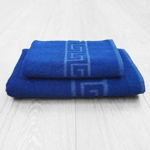 Toallas Greca azul de 450 gramos