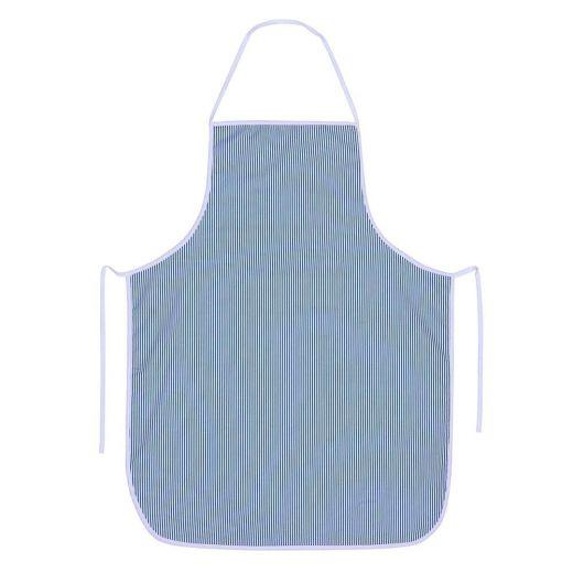 Delantal sarga rayas azules