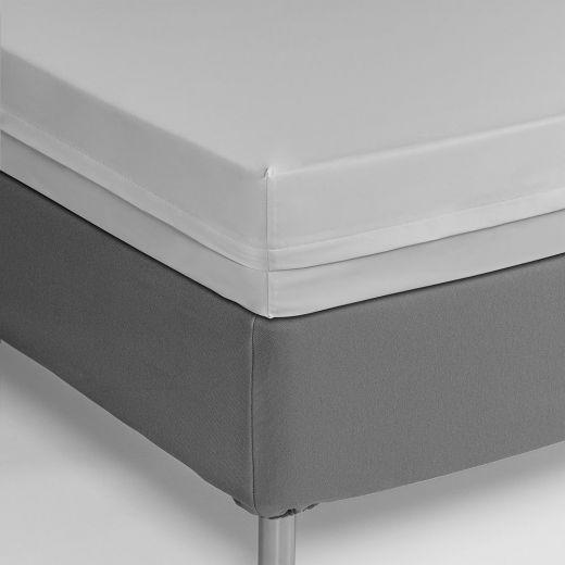 Funda colchón ignifuga blanca