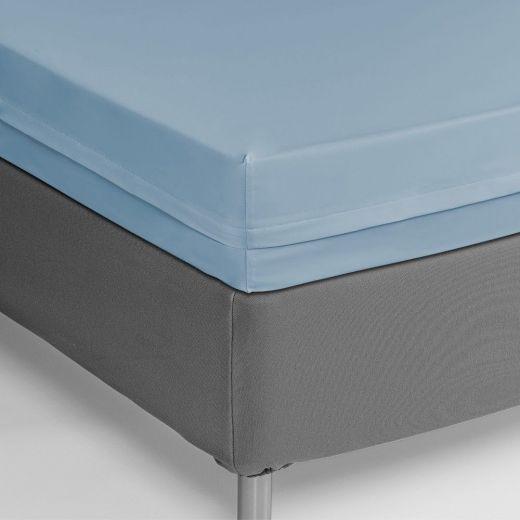 Funda colchón ignifuga azul celeste